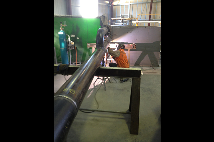 High Pressure Gas Piping